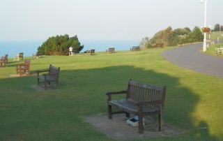 To Sit and Stare: Folkestone's Benches